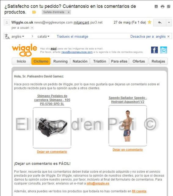 Wiggle i la seva incompetència – 2a part