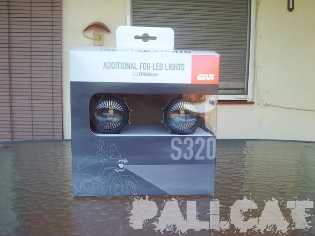 Instalando luces supletorias Givi S320